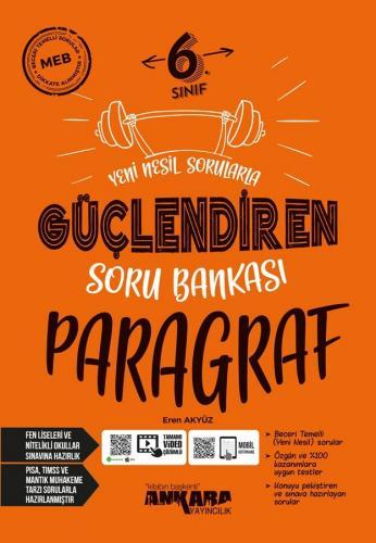 Ankara Yayıncılık 6. Sınıf Paragraf Güçlendiren Soru Bankası Komisyon