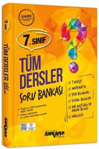 Ankara Yayıncılık 7. Sınıf Tüm Dersler Soru Bankası Komisyon