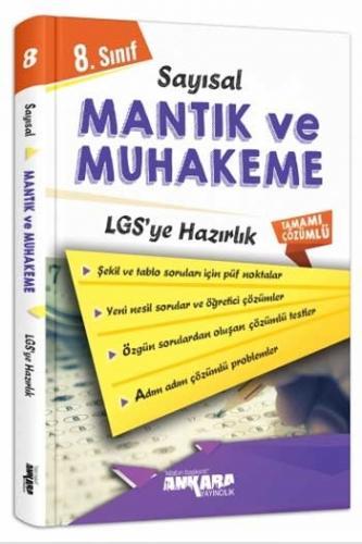 Ankara Yayıncılık 8. Sınıf LGS Sayısal Mantık ve Muhakeme Çözümlü Sor