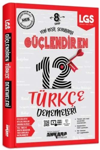 Ankara Yayıncılık 8. Sınıf LGS Türkçe Güçlendiren 12 Deneme %15 indiri