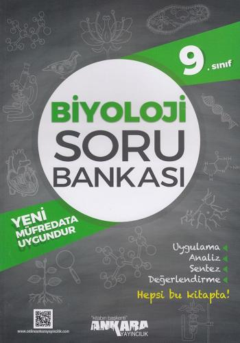 9. Sınıf Biyoloji Soru Bankası - Ankara Yayıncılık