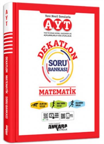 Ankara Yayıncılık AYT Matematik Dekatlon Soru Bankası Komisyon