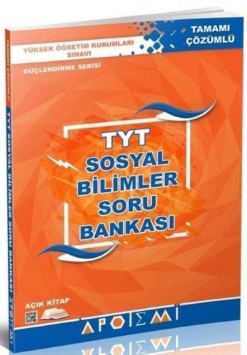 Apotemi TYT Sosyal Bilimler Tamamı Çözümlü Soru Bankası