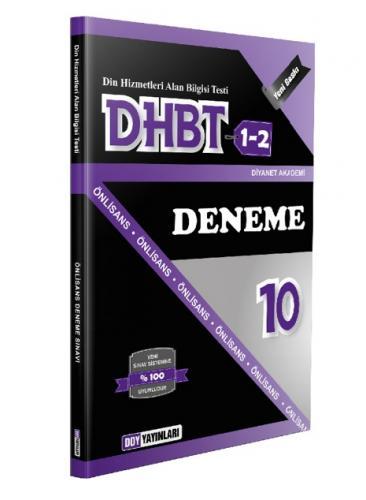 DHBT 1 2 Lisans Önlisans 10  Deneme - DDY Yayınları