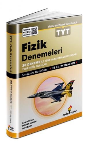 Aydın Yayınları TYT Fizik 30 Fasikül Deneme Video Çözümlü