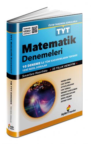 Aydın Yayınları TYT Matematik 10 Fasikül Deneme Video Çözümlü
