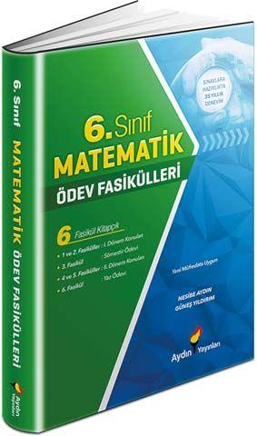 Aydın Yayınları 6. Sınıf Matematik Ödev Fasikülleri