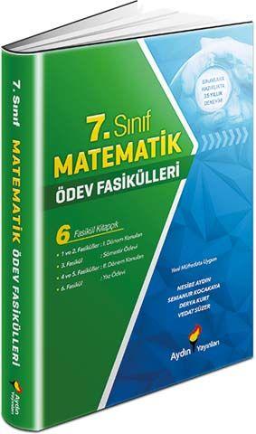 Aydın Yayınları 7. Sınıf Matematik Ödev Fasikülleri