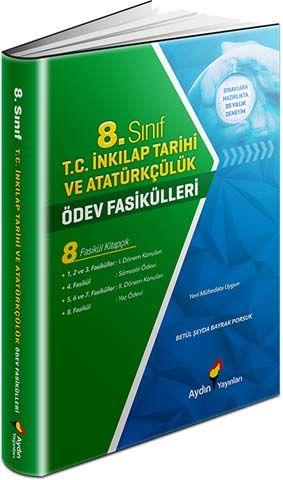Aydın Yayınları 8. Sınıf T. C. İnkılap Tarihi ve Atatürkçülük Ödev Fasikülleri