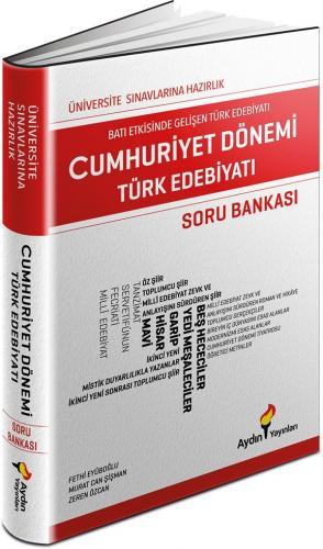Aydın Yayınları Cumhuriyet Dönemi Türk Edebiyatı Soru Bankası