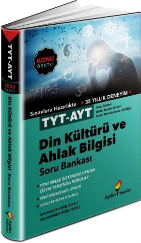 Aydın Yayınları TYT AYT Din Kültürü ve Ahlak Bilgisi Konu Özetli Soru Bankası
