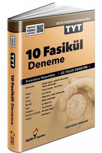 Aydın Yayınları TYT Tamamı Video Çözümlü 10 Fasikül Deneme
