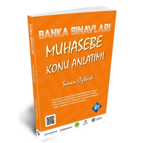 KR Akademi Banka Sınavları Muhasebe Konu Anlatımı Kitabı Sinan Öztürk