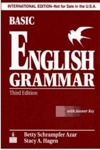 Basic English Grammar Third Edition With Answer Key – Betty Schamfer Azar, Stacy A. Hagen