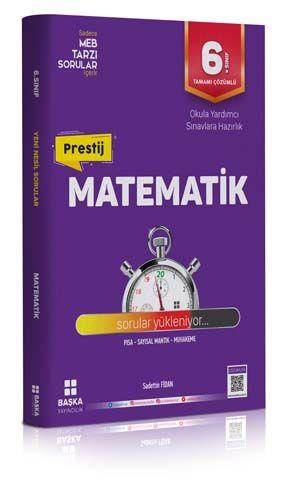 Başka Yayıncılık 6. Sınıf Matematik Prestij Soru Bankası