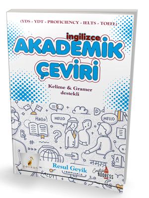 Pelikan İngilizce Akademik Çeviri Kelime & Gramer Destekli - Resul Geyik