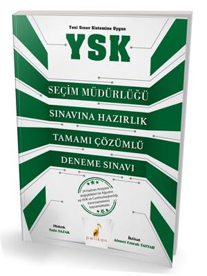 YSK Seçim Müdürlüğü Sınavına Hazırlık Tamamı Çözümlü Deneme Sınavı