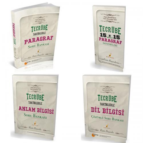 Pelikan TYT için Tecrübe Taktiklerle Türkçe Seti - 4 Kitap