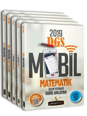 Beyaz Kalem DGS Mobil Konu Anlatımlı Set 5 Kitap 2019