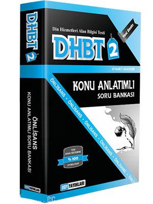 DHBT 2 Lisans Önlisans Konu Anlatımlı Soru Bankası - DDY Yayınları