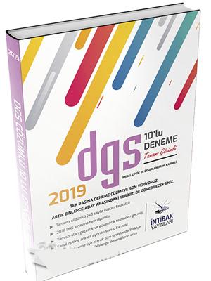 İntibak DGS Tamamı Çözümlü 10 Deneme Seti 2019 %30 indirimli