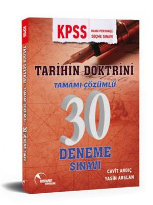 Doktrin KPSS Tarihin Doktrini Çözümlü 30 Deneme Sınavı