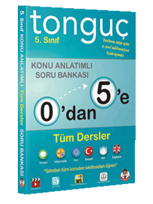 Tonguç Akademi 0 dan 5 e Tüm Dersler Konu Anlatımlı Soru Bankası