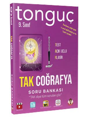 Tonguç Akademi 9. Sınıf TAK Coğrafya Konu Anlatımlı Soru Bankası