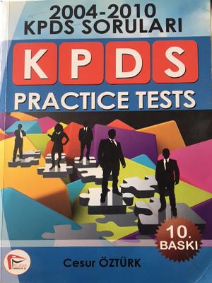 KAMPANYALI KPDS Practice Tests 2004-2010 Cesur Öztürk