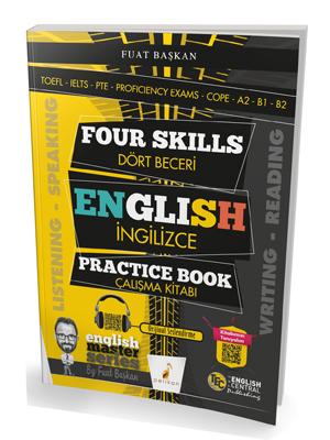 Four Skills English Practice Book - Dört Beceri İngilizce Çalışma Kita