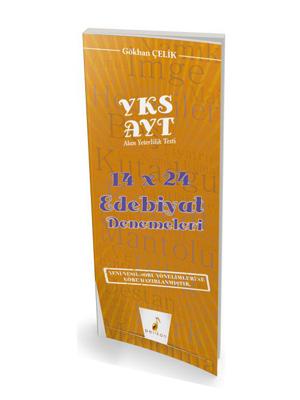 Pelikan YKS AYT 14x24 Edebiyat Denemeleri %45 indirimli Gökhan Çelik