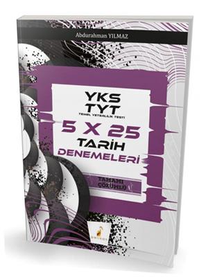 Pelikan YKS TYT 5x25 Tarih Denemeleri Tamamı Çözümlü
