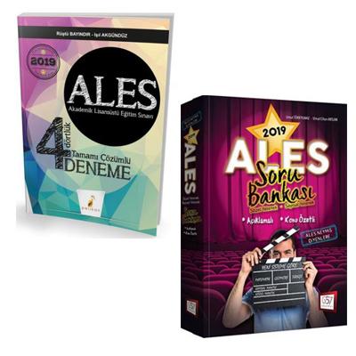 Pelikan ALES 4 Dörtlük Deneme + 657 Yayınevi ALES Sözel Sayısal Yetene