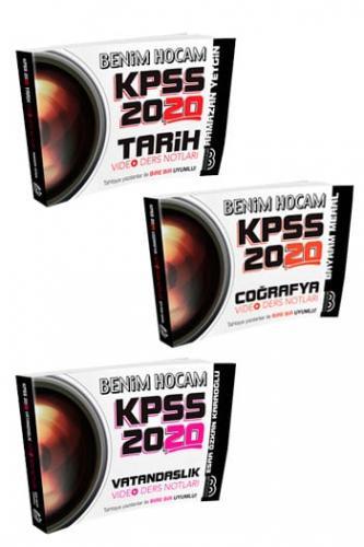 Benim Hocam Yayınları 2020 KPSS Genel Kültür Video Ders Notları Seti