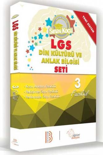 Benim Hocam LGS 8. Sınıf Din Kültürü ve Ahlak Bilgisi Sınav Koçu Seti 3 Fasikül