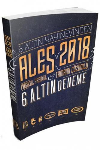 Benim Hocam ALES Fasikül Fasikül Tamamı Çözümlü 6 Altın Deneme Sınavı 2018