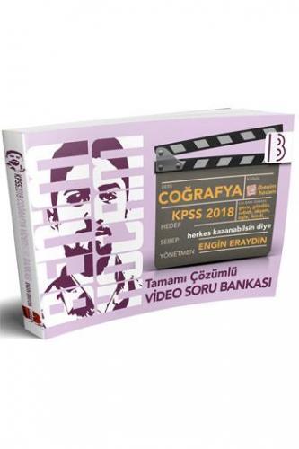 Benim Hocam KPSS Coğrafya Tamamı Çözümlü Video Soru Bankası 2018