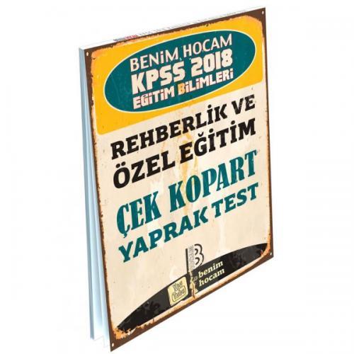 Benim Hocam KPSS Eğitim Bilimleri Rehberlik ve Özel Eğitim Çek Kopart