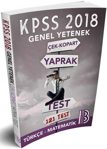 Benim Hocam KPSS Genel Yetenek Çek Kopar Yaprak Test 2018