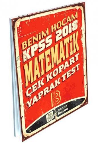 Benim Hocam KPSS Matematik Çek Kopart Yaprak Test 2018