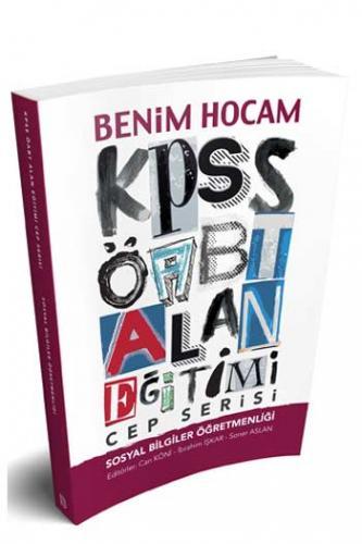 Benim Hocam KPSS ÖABT Sosyal Bilgiler Öğretmenliği Cep Serisi