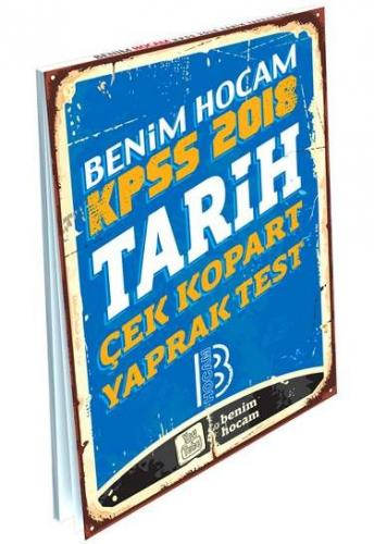 Benim Hocam KPSS Tarih Çek Kopart Yaprak Test 2018