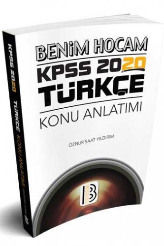 Benim Hocam Yayınları 2020 KPSS Türkçe Konu Anlatımı %40 indirimli Özn