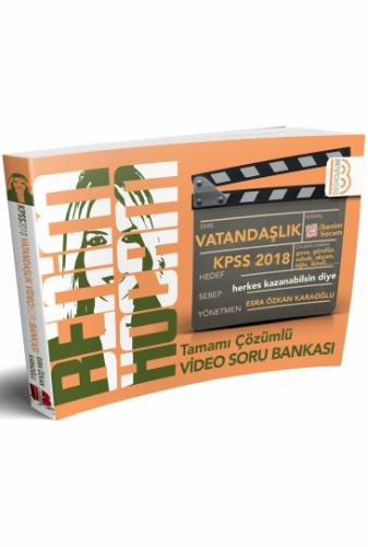 Benim Hocam KPSS Vatandaşlık Tamamı Çözümlü Video Soru Bankası 2018
