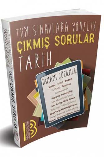 Benim Hocam Yayınları 2020 Tüm Sınavlara Yönelik Tarih Konularına Göre Çıkmış Tamamı Çözümlü Sorular