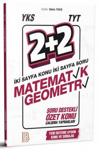 Benim Hocam YKS TYT Matematik Geometri 2+2 Soru Destekli Özet Konu Yaprakları