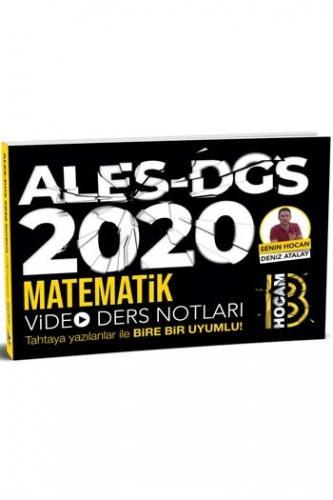 Benim Hocam Yayınları 2020 ALES DGS Matematik Video Ders Notları %40 i