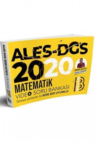 Benim Hocam Yayınları 2020 ALES DGS Matematik Video Soru Bankası Deni