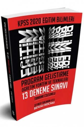 Benim Hocam Yayınları 2020 KPSS Eğitim Bilimleri Program Geliştirme Öğretim Yöntem ve Teknikleri Tamamı Çözümlü 13 Deneme