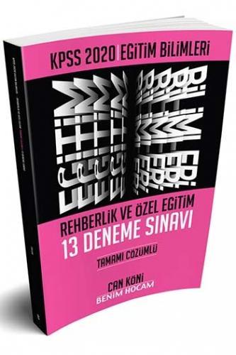 Benim Hocam Yayınları 2020 KPSS Eğitim Bilimleri Rehberlik ve Özel Eğitim Tamamı Çözümlü 13 Deneme